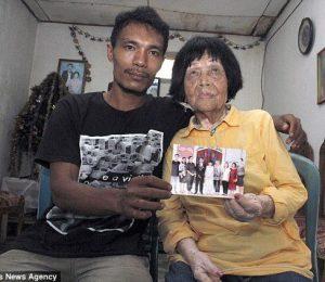 ازدواج پسر 28 ساله با زن 82 ساله