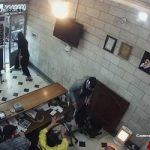 تصاویر سرقت مسلحانه از صرافی خیابان فردوسی
