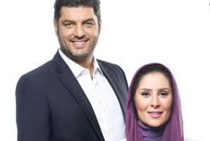 مجید صالحی سام درخشانی و همسرش در آنکارا
