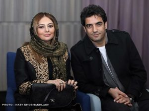 یکتا ناصر با همسرش منوچهر هادی
