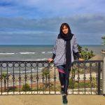 پریناز ایزدیار در تعطیلات عید نوروز
