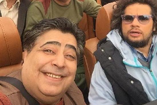 دو بازیگر طنز در لامبورگینی