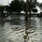 خسارت های طغیان آب دریا در بوشهر