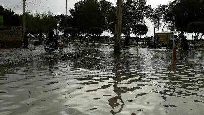 خسارت طغیان آب در بوشهر