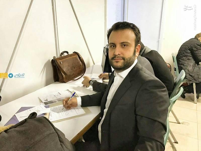 علی سلطانیفر پسر وزیر ورزش و جوانان کاندیدا شد