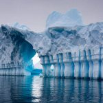 ستون های کوه یخی آنتارکتیکا