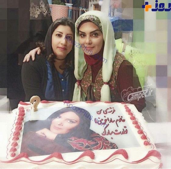 سارا خوئینی ها در جشن تولدش