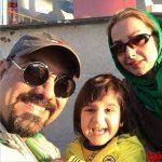 برزو ارجمند،همسر و پسرش در یزد