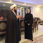 تبریک حجت الاسلام شهاب مرادی به نرگس کلباسی