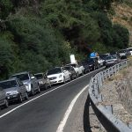 ترافیک فعلی جاده چالوس و هراز +10 جاده مسدود