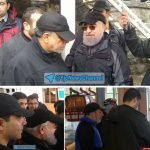 حسن روحانی با لباس ورزشی در تله کابین توچال