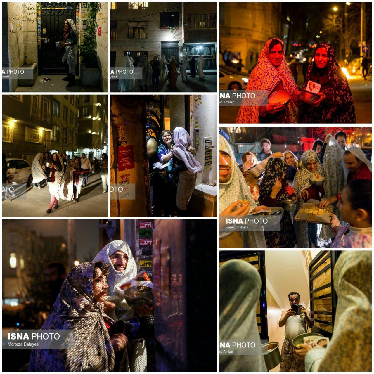 قاشقزنی در تهران
