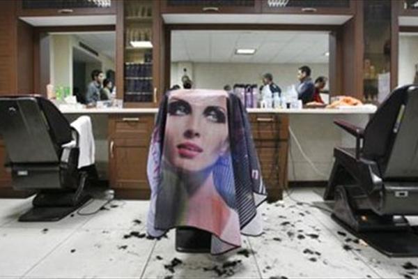 عجیب ولی واقعی , انتشار تصاویر آرایشگاههای زنانه تهران!