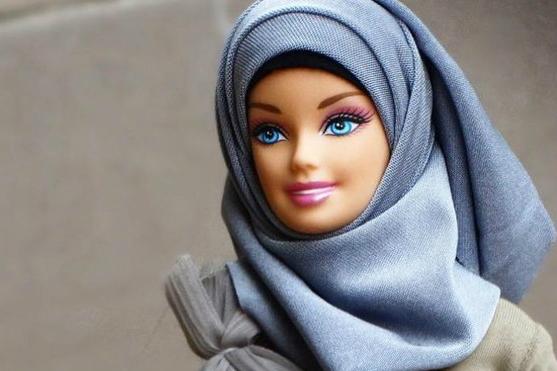 عروسک های با حجاب در بازار آمریکا