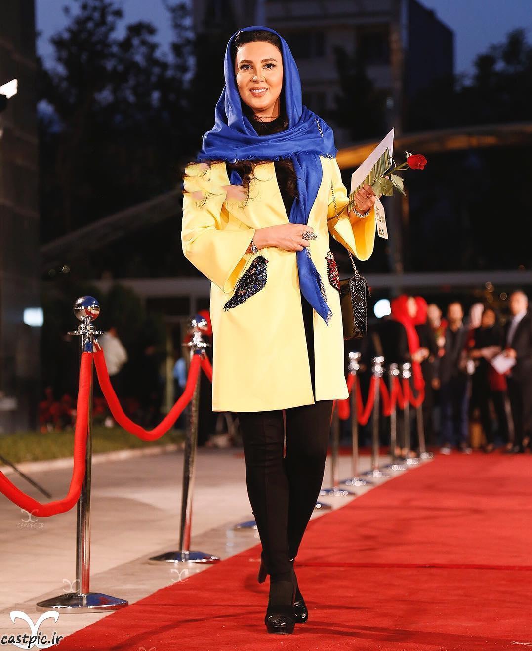 لیلا بلوکات با ظاهری متفاوت در مشهد مقدس
