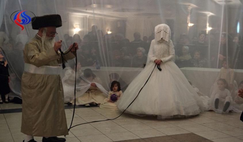 بستن افسار به عروس