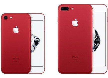 رونمایی از آیفون قرمز رنگ