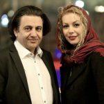 عکسی از افشین یداللهی و همسرش