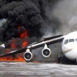 آتشسوزی هواپیمای بوئینگ با ۱۴۱مسافر