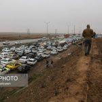تصادف زنجیره ای در مشهد با یک کشته و بیش از 50 مجروح