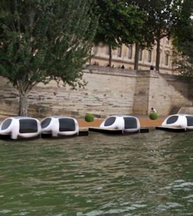 تاکسی هایی روی آب با سرعت بالا