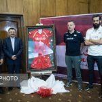 مراسم رونمایی از پیراهن تیم ملی والیبال