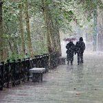بارش باران در 20 استان کشور , هوا سرد می شود