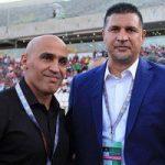شوخی های علی دایی و علی منصوریان در فرودگاه پس از آن همه اتفاق!