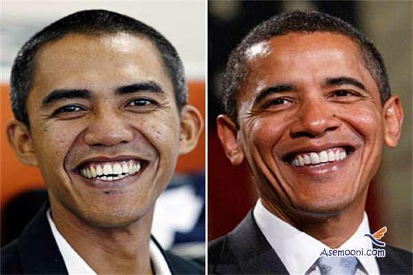 بعد از مسی بدل ایرانی اوباما هم رسید