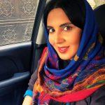 پوشش عجیب بازیگر زن مشهور در موزه ای در خارج از ایران