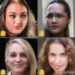 تبدیل عکس بازیگران مرد به چهره ای زنانه