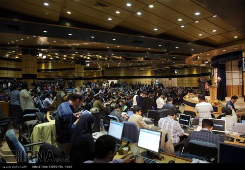 ثبت نام روحانی در انتخابات