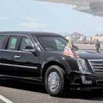 سوپر اتومبیل زرهی ترامپ در سفر به رم!