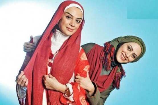 هدیه جالب خواهران فرجاد به مهران مدیری در دورهمی