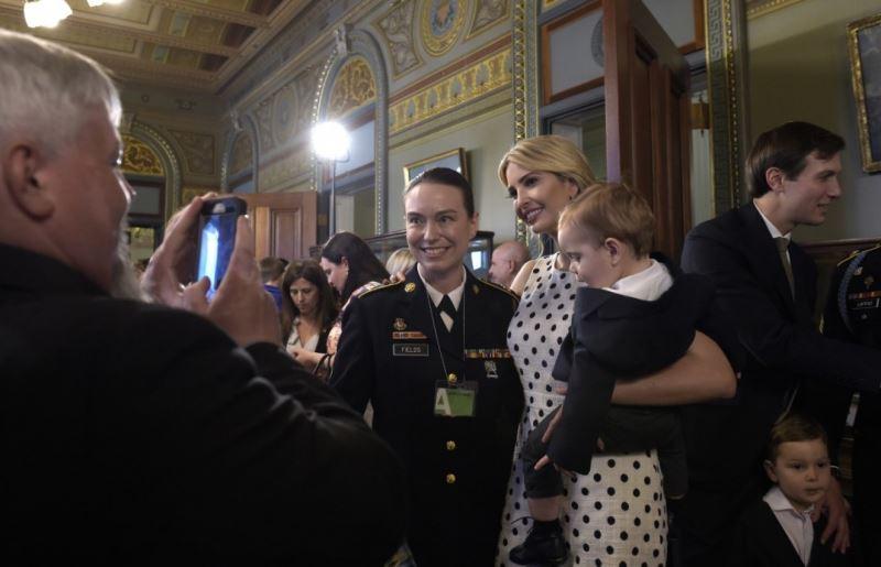 ایوانکا ترامپ در جشن روز مادر