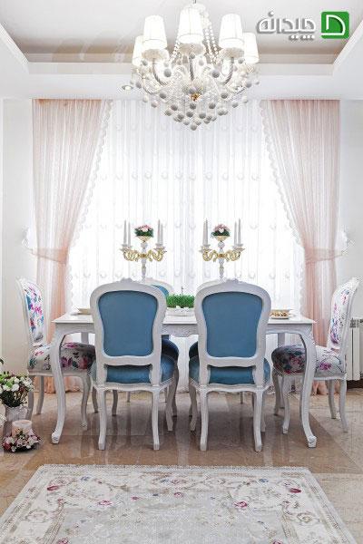 دکوراسیون منزل رمانتیکِ زوج تهرانی
