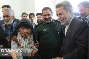 بانوی ۱۲۰ ساله در پای صندوق رای حضور یافت