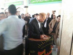 شهردار تهران چرا در اردبیل رای خود را در صندوق انداخت؟