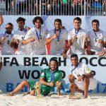 ایران بر روی سکوی سوم جام جهانی فوتبال ساحلی