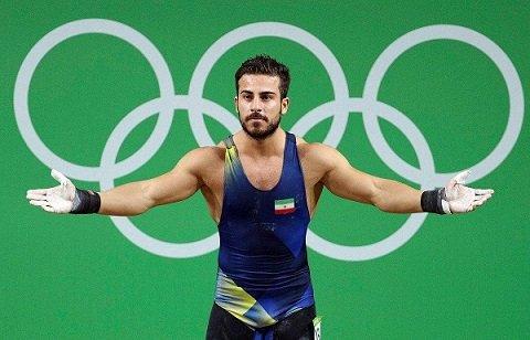 قهرمان وزنه برداری ایران خداحافظی کرد