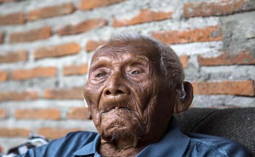 پیرترین فرد جهان