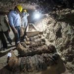 کشف نخستین انسانهای مومیایی شده در مصر