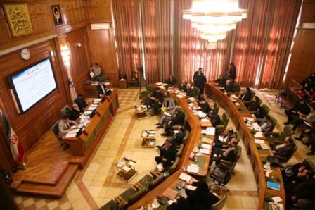 درگیری لفظی و جنجالی در شورای شهر تهران
