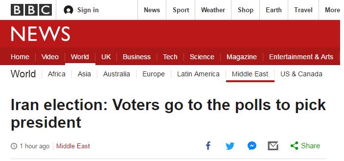 واکنش bbc و voa به انتخابات