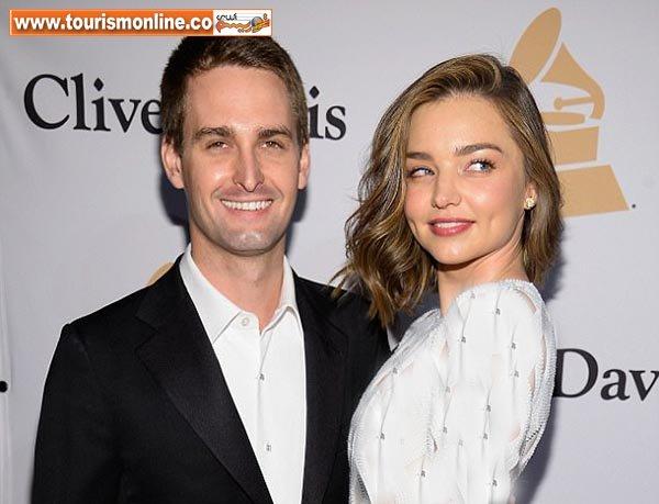 ازدواج مدل مشهور استرالیایی