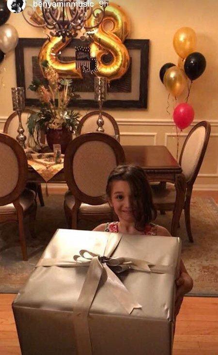 هدیه بارانا برای تولد شایلی