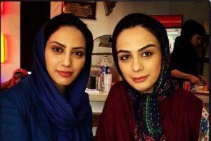 هدیه نوستالژیک مارال و مونا فرجاد خواهران بازیگر به مهران مدیری