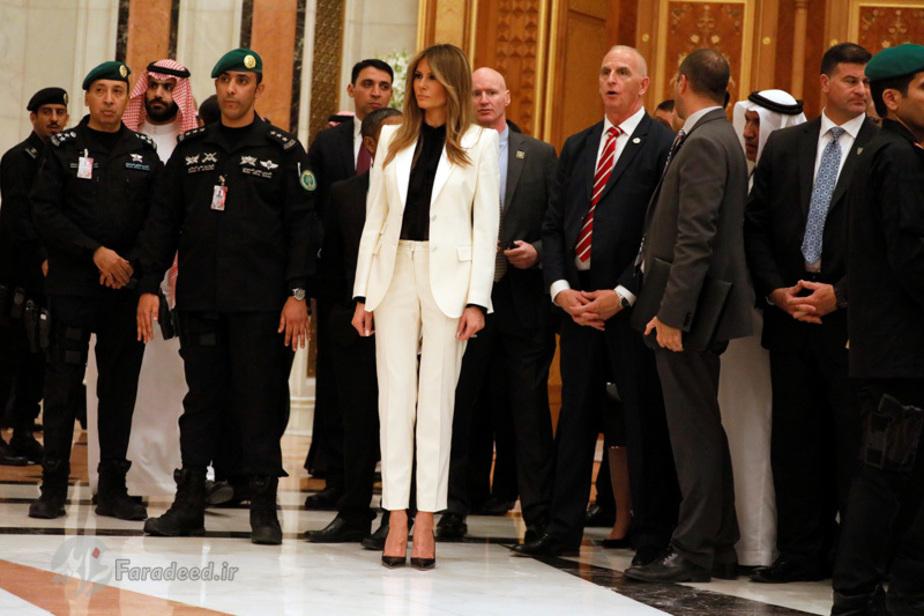 اولین تور خارجی ملانیا ترامپ