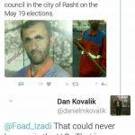 واکنش یک آمریکایی به پیروزی یک رفتگر در ایران
