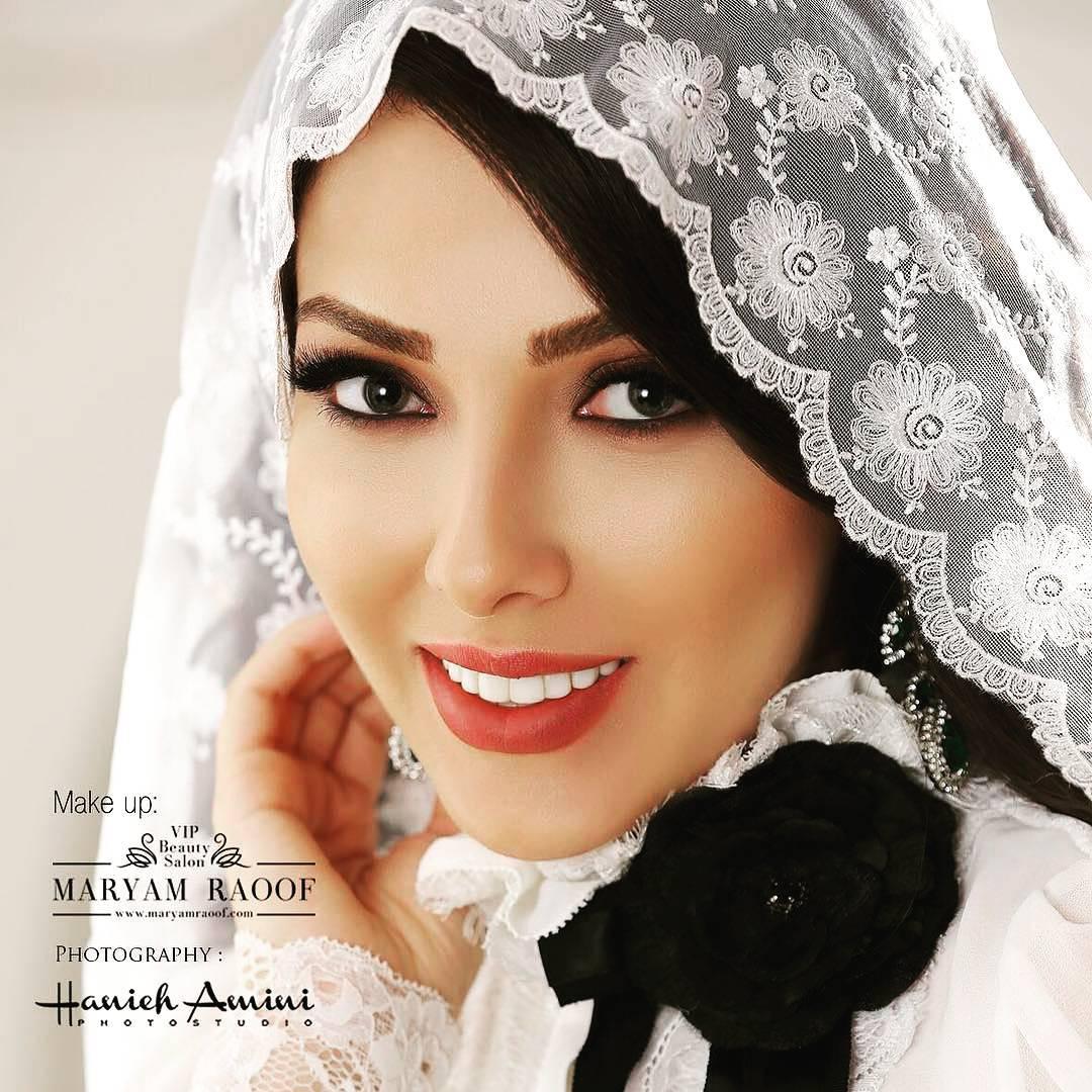 تبلیغ جالب لیلا اوتادی برای سالن زیبایی دوستش